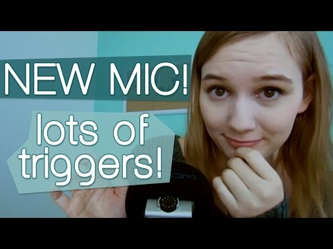 [BINAURAL ASMR] NEW MIC! LOTS OF TRIGGERS! (whispering, scalp massage, crinkling, tapping, etc.)