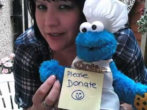 THE ICE BUCKET CHALLENGE PART 3 - COOKIE MONSTER - WATCH / LAUGH / DONATE