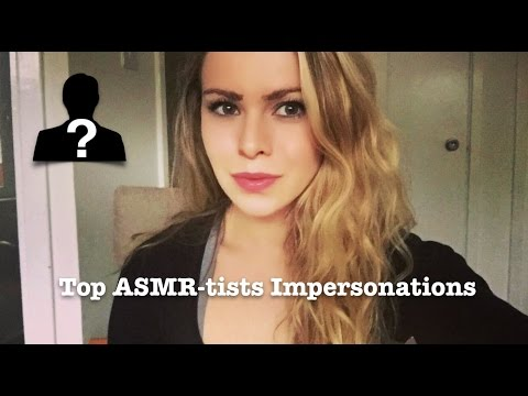 ASMR | Impersonations of the TOP Asmr-tists | Whispers, Soft Spoken, Ear to Ear