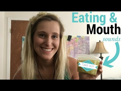 ASMR Chinese Take-Out *Eating* & *Mouth* Sounds