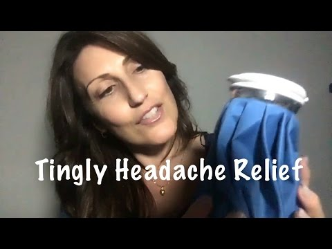 ASMR Tingly Headache Relief (Gentle Whispering) | Soothing