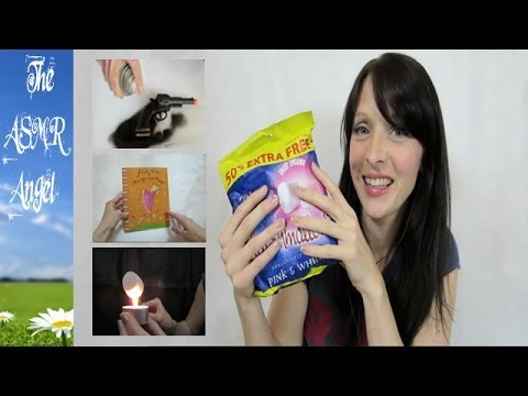ASMR - Soft Spoken Shopping Haul with plastic & cardboard sounds