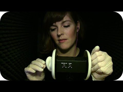 ASMR Playing w/ Latex Gloves & Your Ears  *No Talking*