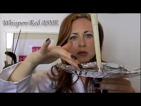 (: ASMR Ear Candling - Medical Role Play :) Gentle Ear Cleaning