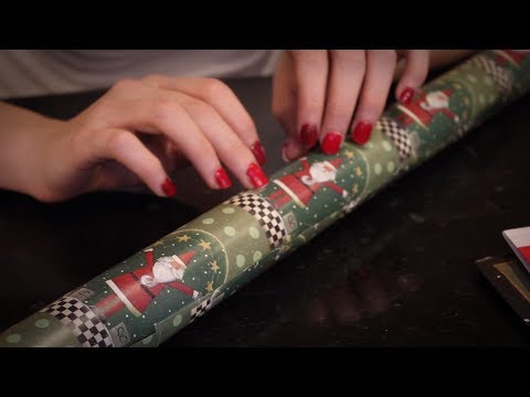 12 Days of Role Plays: Day 9 - Gift Wrapping Station - ASMR - Soft Spoken, Crinkling, Tracing