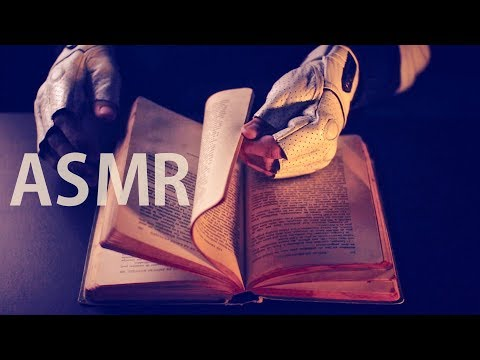 ASMR PAGE TURNING Vintage Old Book 📖Page Flipping - NO TALKING