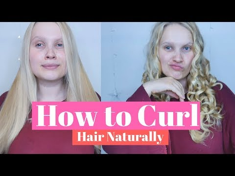 [ASMR] How to Curl Hair Naturally