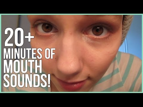 [BINAURAL ASMR] 20+ Minutes of Mouth Sounds!