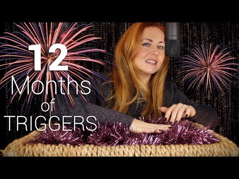 12 Months of Triggers 🎉 ASMR 🎉 Tingle Basket X