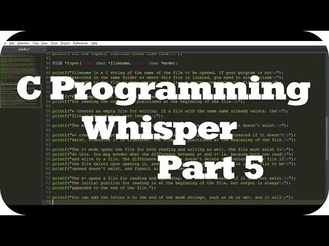 ASMR Ear to Ear Whisper About C Programming for Relaxation (Layered Typing Sounds) Pt. 5