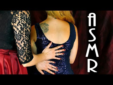 Reduce Stress NOW! Back Tracing ASMR Massage on Sequins