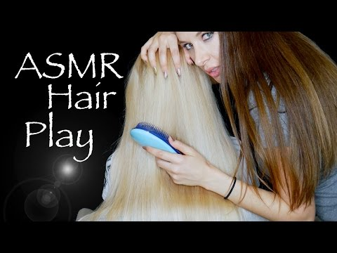 ASMR Hair Brushing and Scalp Massage