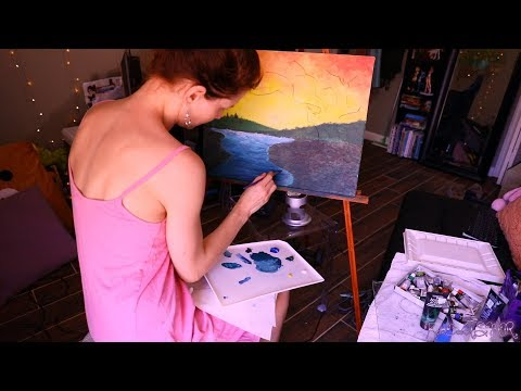 ASMR Paint With Me | A Sound Focused Instruction