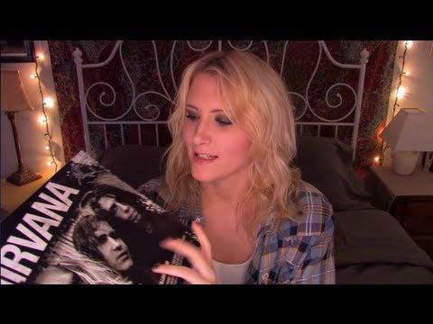 Time Travel Tuesday: Nirvana - ASMR - Soft Speaking, Tapping, Page Turning