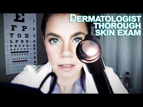 ASMR Dermatologist - Thorough Skin Inspection and Extraction RP