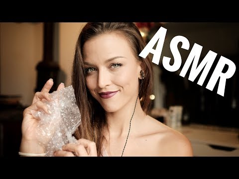ASMR Gina Carla 👌🏽 Did you love this too?? Plastic Air Bubble Sounds!