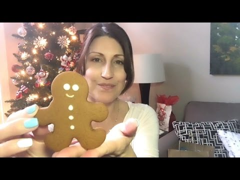 ASMR Quick Chat (binaural) | Show You My New Eye Glasses | Some Tapping Sounds & Merry Christmas!
