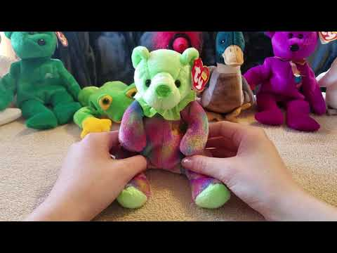 ASMR ~ Beanie Baby Collection ~ Whispering ~ Relaxing
