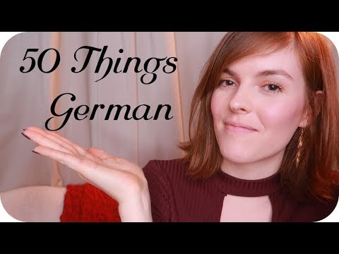 ASMR 50 Things About Me  ♡ German