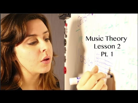 ASMR Music Theory Lesson 2, Pt. 1
