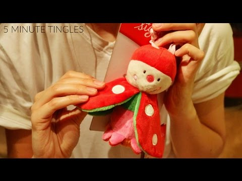 Binaural ASMR ♥ Playing with a SUPER CRINKLY Toy