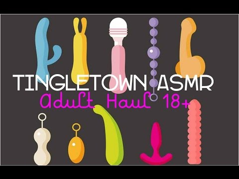 ASMR Adult haul 18+ w/ crinkles & tapping