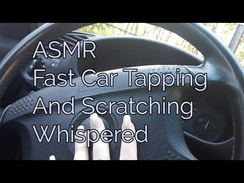 ASMR Fast Car Tapping And Scratching(Whispered)Lo-fi