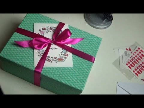 ASMR 🎁 Wrapping A Gift 🎁 Plastic Sounds & Crinkles