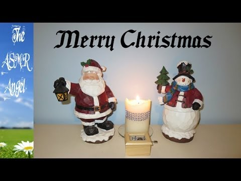 ASMR Christmas Music Box - Silent Night