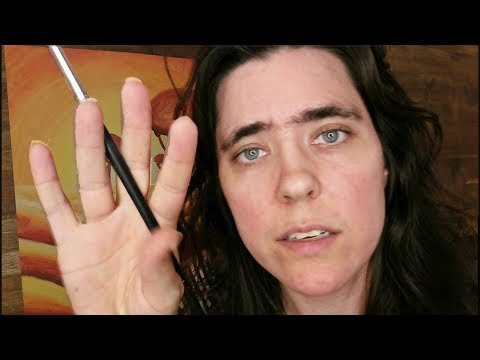*Whisper* ASMR Painting Your Portrait Role Play (Viewers Appreciation)