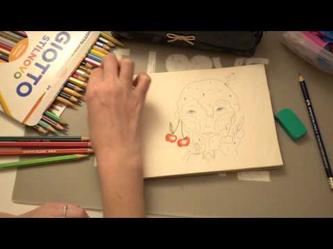 ★ASMR Drawing and Colouring with Catalan Whispers