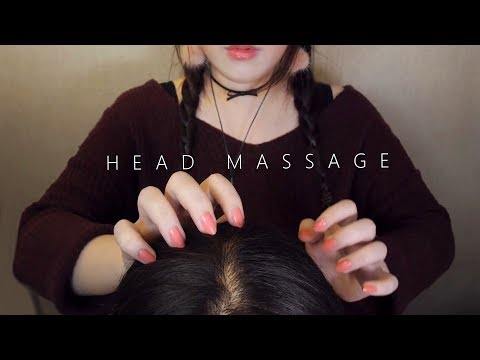 ASMR Realistic! 10 Scalp Massage & Hair Brushing 😚 (No Talking) 두피마사지