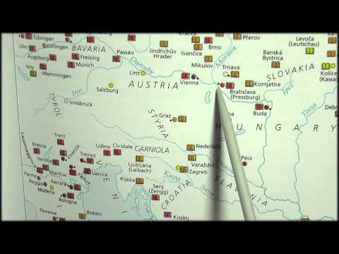 40. Pointer: Map of 18th Century Europe - SOUNDsculptures (ASMR)