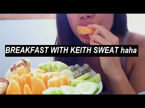 BREAKFAST WITH KEITH SWEAT (plant foods & good mood!)