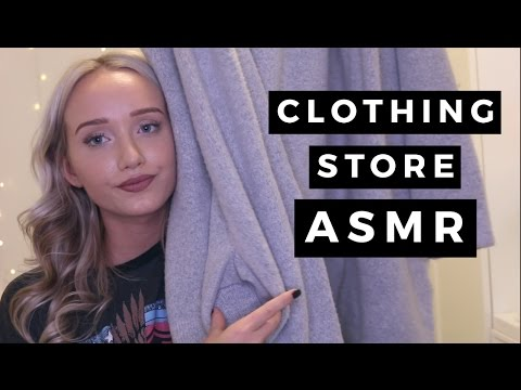 ASMR Clothing Store Personal Shopper (For Relaxation And Sleep)   GwenGwiz