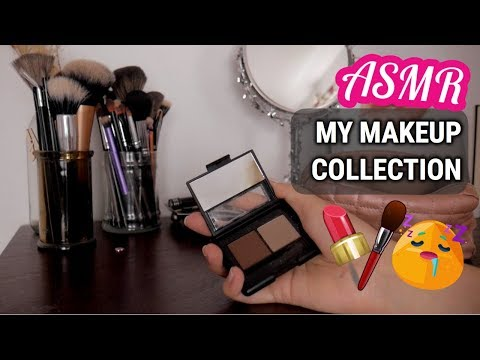 ASMR My Makeup Collection - Whispered