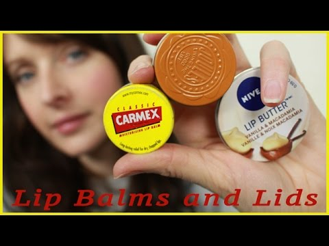 ASMR - Lip Balm - My Collection (opening and closing lids)