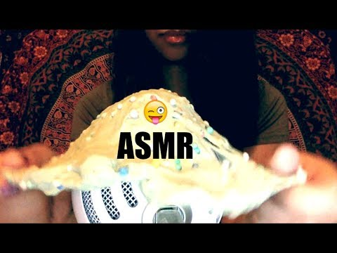 ASMR Fast Tapping, Glass Sounds, Liquid Shaking, and Slime sounds