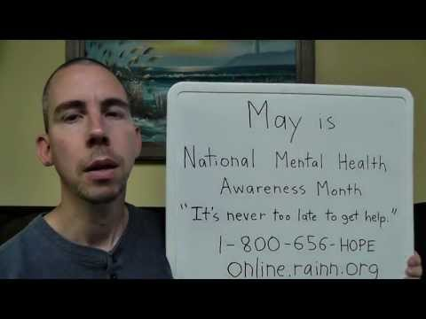 An Important Message for Victims of Sexual Assault & May is National Mental Health Awareness Month