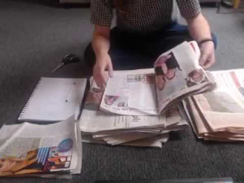 ASMR Sorting Old Newspapers & Magazines Intoxicating Sounds Sleep Help Relaxation