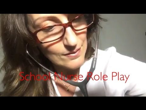 ASMR Medical Examination School Nurse RP | Ouch! Treating Your Wounds! Lots of Tingly Triggers