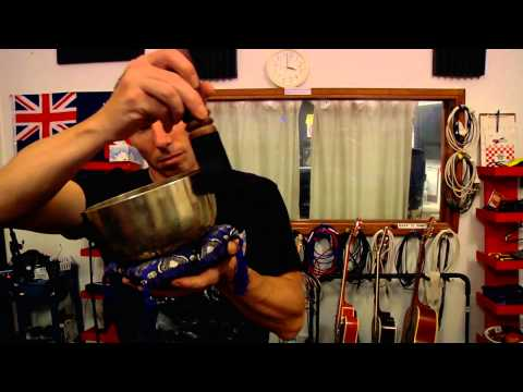 Sound Therapy Test - Tibetan Singing Bowls + More Strong Sound