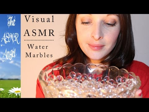 Playing with Water Marbles - Visual ASMR Trigger