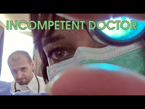 ASMR Incompetent Doctor Exam (with SoftAnna)