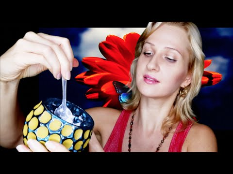 Crinkles, Tapping, Baking Soda sounds | ASMR Sleep Relaxation: How to make a scented candle