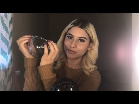 ASMR THE BEST  Glass sounds ,Tapping,long nails  - RELAXING