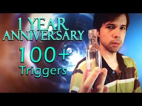 ASMR All the Triggers / Best Sounds for Extreme Tingles ( 1Year Anniversary )