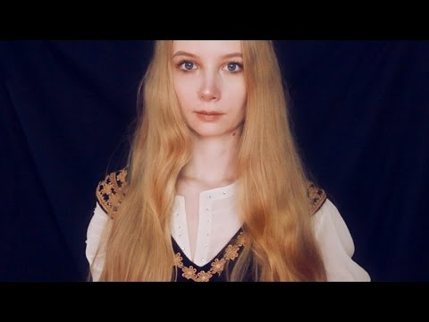 ASMR Eowyn Cosplay and Roleplay 🏰 ASMR Lord of the Rings ASMR 🏰 Whisper / Role Play / Fabric