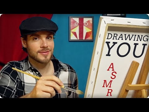 ASMR Painting YOUR Portrait – Personal Attention Roleplay