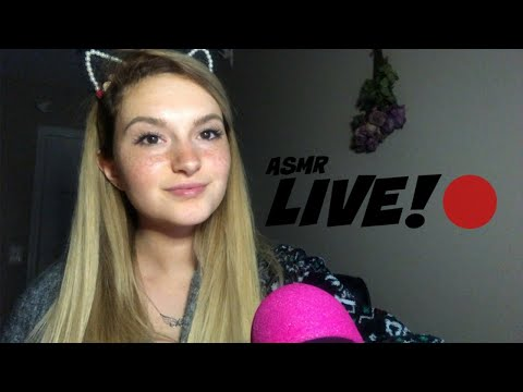 LIVE ASMR // Chill ~ Chat ~ Request